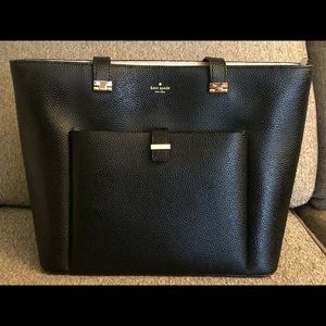 Kate Spade Large Black Work Tote